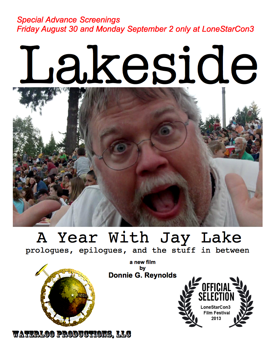 Lakeside LoneStarCon poster
